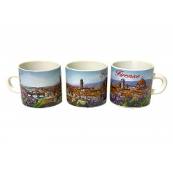 Tazzina in ceramica Panorama Firenze