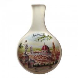Posamestolo in ceramica Pizzale michelangelo Firenze