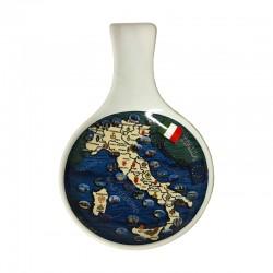 Posamestolo in ceramica Penisola italiana