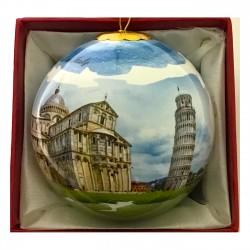 Palla natalizia piccola Panoramica Pisa PI3-i ø5