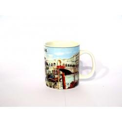 Mug in ceramica di Venezia S.marco/rialto