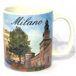 Mug in ceramica multiveduta di Milano