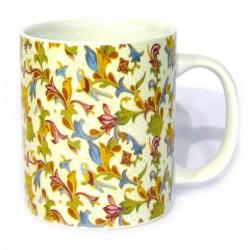 Tazza in ceramica stile fiorentino