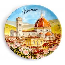 Piatto ø20 cm FI24 Duomo di Firenze