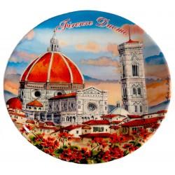 Piatto da souvenir di Firenze al tramonto FI31