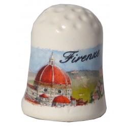 Ditale da souvenir con il Duomo di Firenze FI24