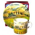 Set caffé da souvenir della Toscana TS1