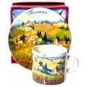 Set caffé da souvenir della Toscana TS2